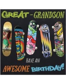 Great-Grandson Birthday