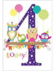 Age 4 Birthday