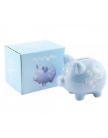 My Frist Piggy Bank Blue