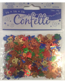 Table Confetti - Age 16