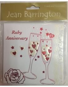 Invitation Ruby Anniversary