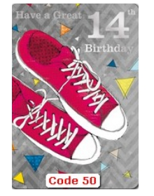 Age 14 Birthday