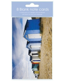 Blank Notelets 8 a Pack w/ 2 Designs