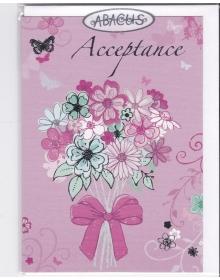 Acceptance Card ( Wedding )