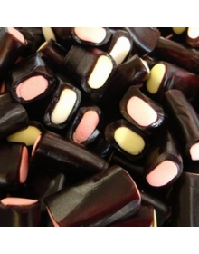 Share Bags / Liquorice Cream Rock 215g