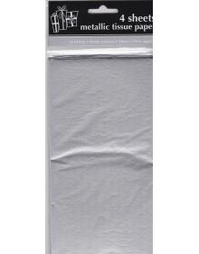 Metallic Tissue Paper ( 4 sheets )