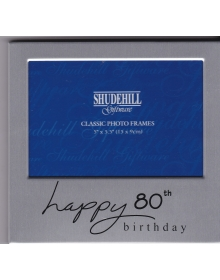 Photo Frame ( 80th Happy Birthday )