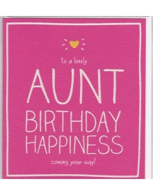 Auntie birthday