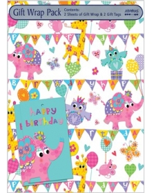 Gift Wrap Pack - Carnival (2 sheets and 2 tags)