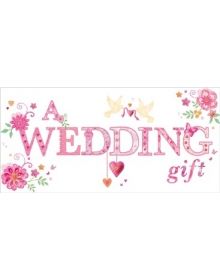 Wedding Gift Card - Money Wallet