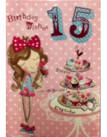 Age 15 Birthday