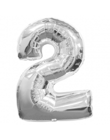 Large Number 0 Foil Balloon