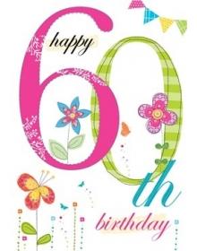 Age 60th Birthday