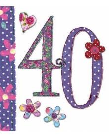 Age 40th Birthday