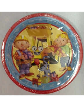 Party Plates Bob The Builder