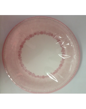 Party Plates Pink