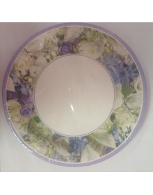 Party Plates Silver