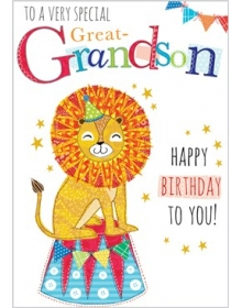 Great-Grandson Birthday