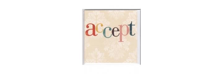 Acceptance / Regret